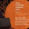 Zhu Min, ex presidente del Banco de China, será el orador de asia Copper Dinner 2017